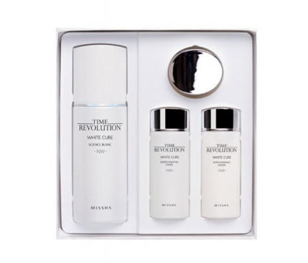 TIME REVOLUTION WHITE CURE SCIENCE BLANC SERUM SPECIAL SET