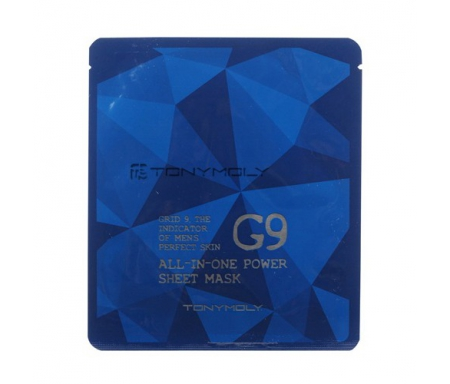 Tony Moly G9 All in one power sheet mask for men