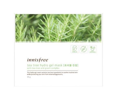 Innisfree tea tree hydro gel mask
