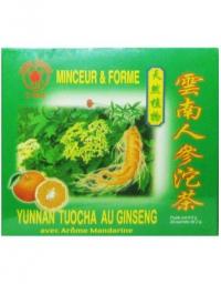 "Minceur & forme ""YUNNAN TUOCHA au ginseng"""