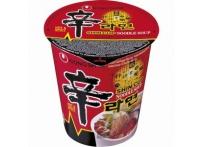 Bol de nouilles pimenté SHIN CUP 68g