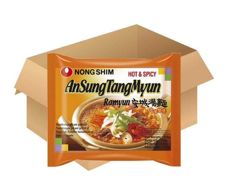 Nongshim AnSungTangMyun saveur pigmenté