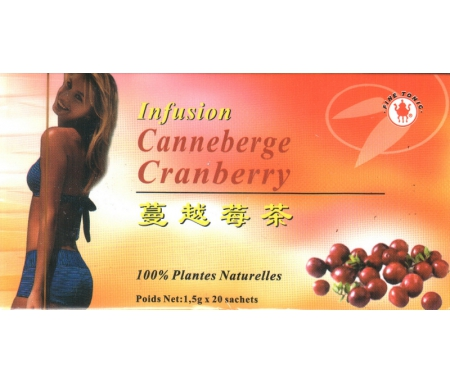 Infusion Canneberge Cranberry