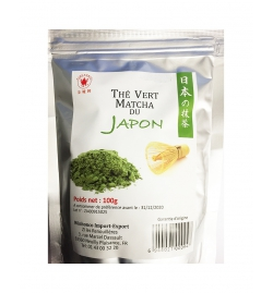 Thé Vert Matcha du japon 100G