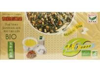 Thé vert japonais aux Riz grillés Bio 25 sachets