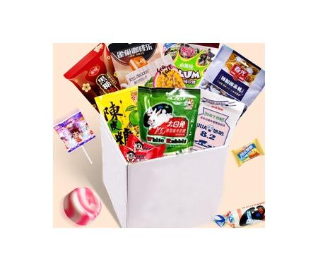 boite surprise snacks chinois