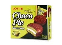 Lotte Choco Pie Green Tea 12p