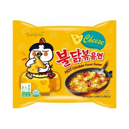 Samyang Hot chiken Flavor ramen - Cheese 140G