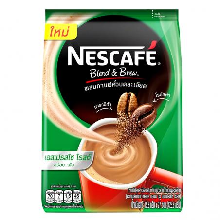 Nescafé Blend & Brew Avec Sucre Instant Coffee 15.8g x 27pcs