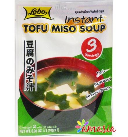 Soupe instantanée TOFU MISO