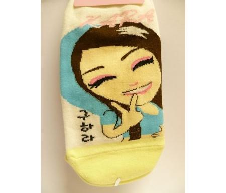 Socquettes cartoons fun