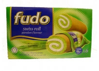 FUDO swiss roll parfumé pandan