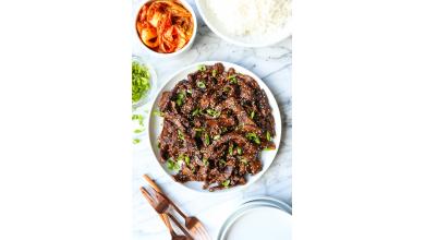 Bulgogi (boeuf barbecue coréen)