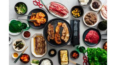 Le barbecue coréen avec ssamjang